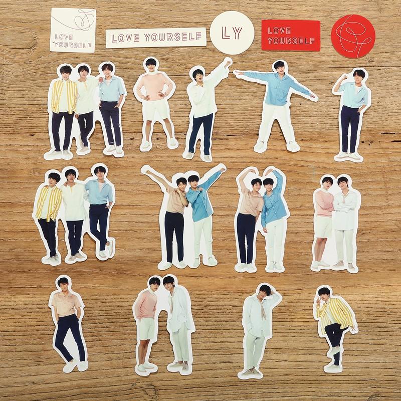 กระเป๋าเดินทาง Kpop Bts Love Yourself 18 ชิ้น