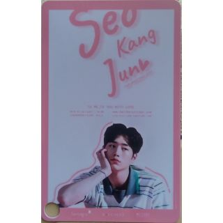 "Seo Kang Jun Thailand fan meeting 2019 ""To me, To you with Love"" ticket card"
