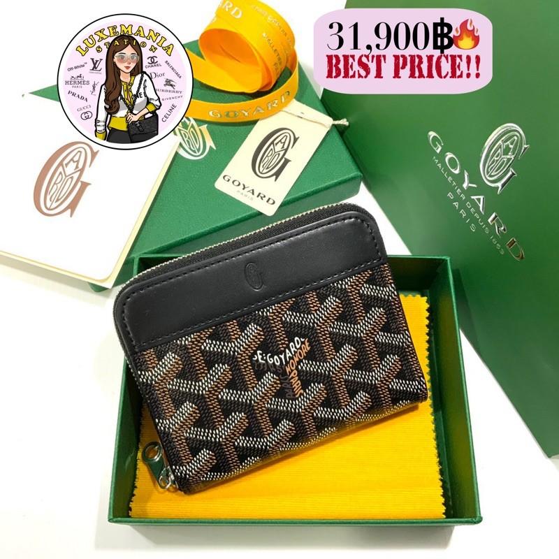 👜: New!! Goyard Short Zippy Wallet in Black‼️ก่อนกดสั่งรบกวนทักมาเช็คสต๊อคก่อนนะคะ‼️