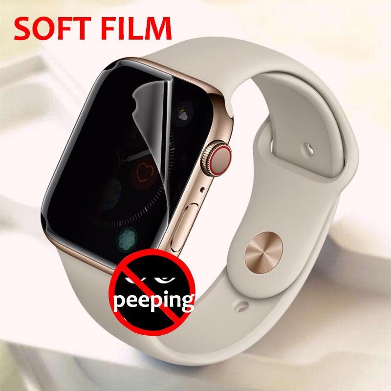 ฟิล์มกันรอยหน้าจอนาฬิกาข้อมือ Apple Watch 5 Band 42 มม. 38 มม. 40 มม. 44 มม. สําหรับ Iwatch 4 Series Se 6 5 1/2/3/4