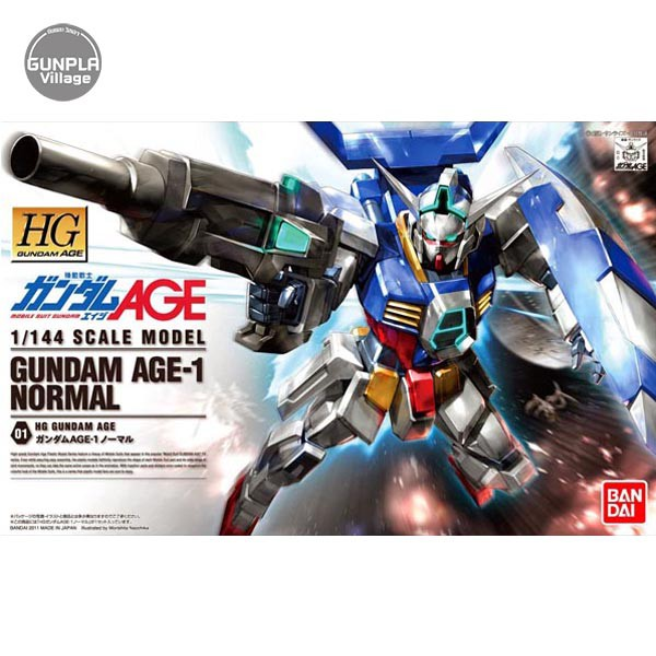 Bandai HG Gundam AGE-1 Normal 4573102582706