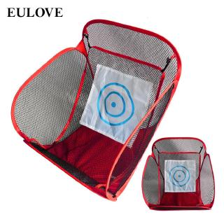 eulove Portable Folding For Indoor Outdoor Sports Training  Practice Equipment Net Golf Set Fabulous