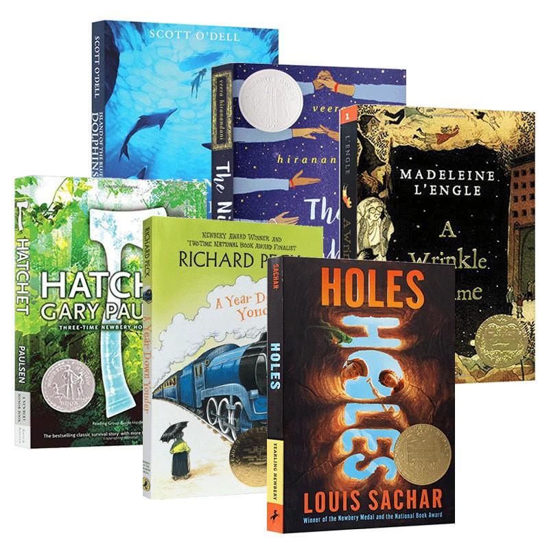 Hot Books Newbery Award - Winning ชุดเครื่องแต่งกายสําหรับเด็กผู้ชาย
