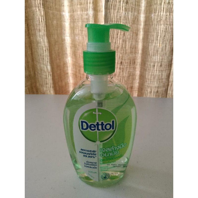 เจลล้างมืออนามัย dettol