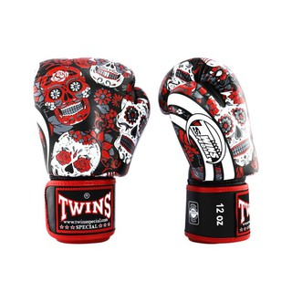 TWINS SPECIAL BOXING GLOVES HALLOWEEN รุ่น RED BLACK FBGVL3-53