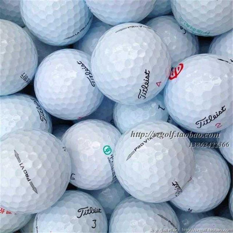 @ลูกซ้อมกอล์ฟ@¤Golf Titleist pro v1 v1x อุปกรณ์ลูกกอล์ฟสามหรือสี่ชั้นจากสนามกอล์ฟ
