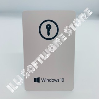 Windows 10 Pro FPP Card. Key ของแท้ 100%