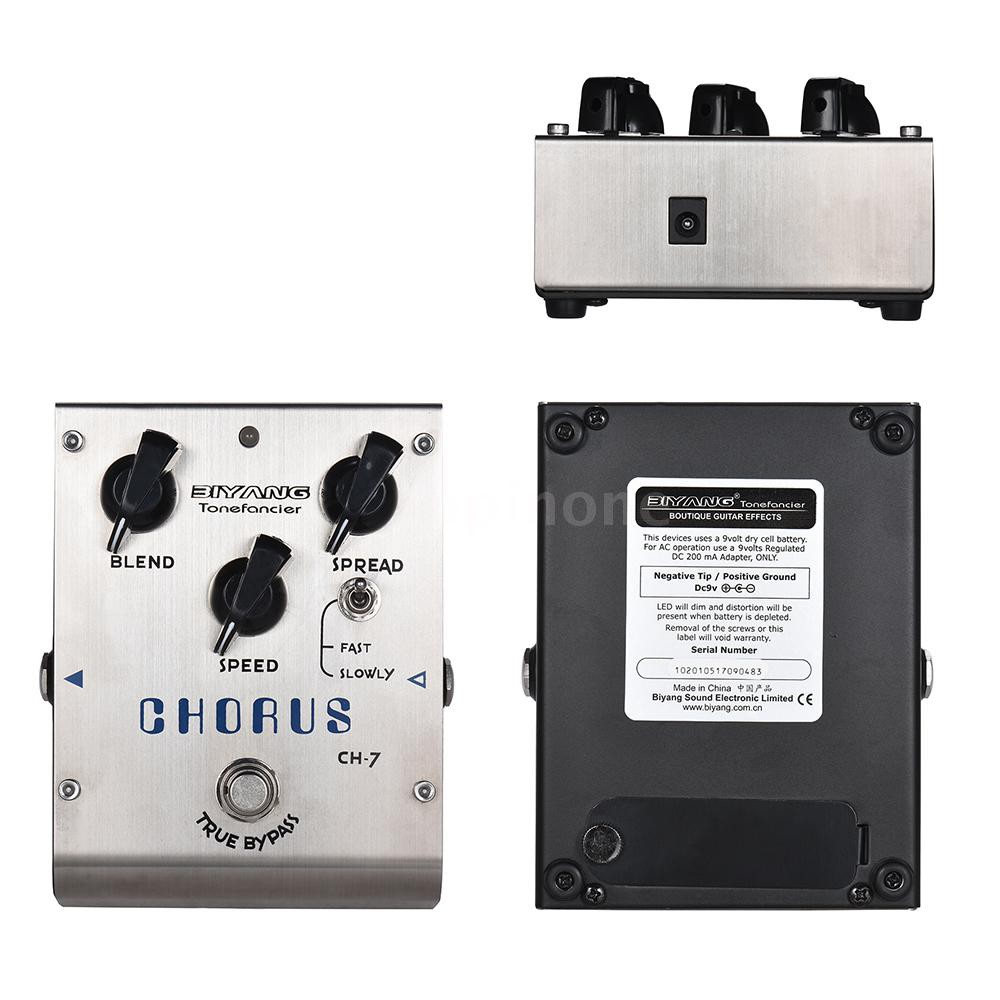 Biyang Ch-10 Smart Compact Circuit Design Baby Boom Series Analog Chorus Guitar Effect Pedal True Bypass Full Metal Shell Back To Search Resultssports & Entertainment