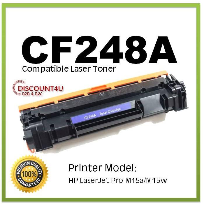 CF248A Toner Cartridge For HP 48A LaserJet Pro M15a M15w M28a M28w w// New Chip