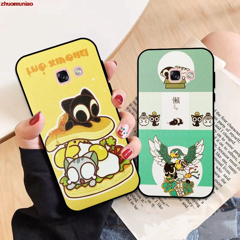 Samsung A3 A5 A6 A7 A8 A9 Pro Star Plus 2015 2016 2017 2018 LXH Pattern-2 Silicon Case Cover