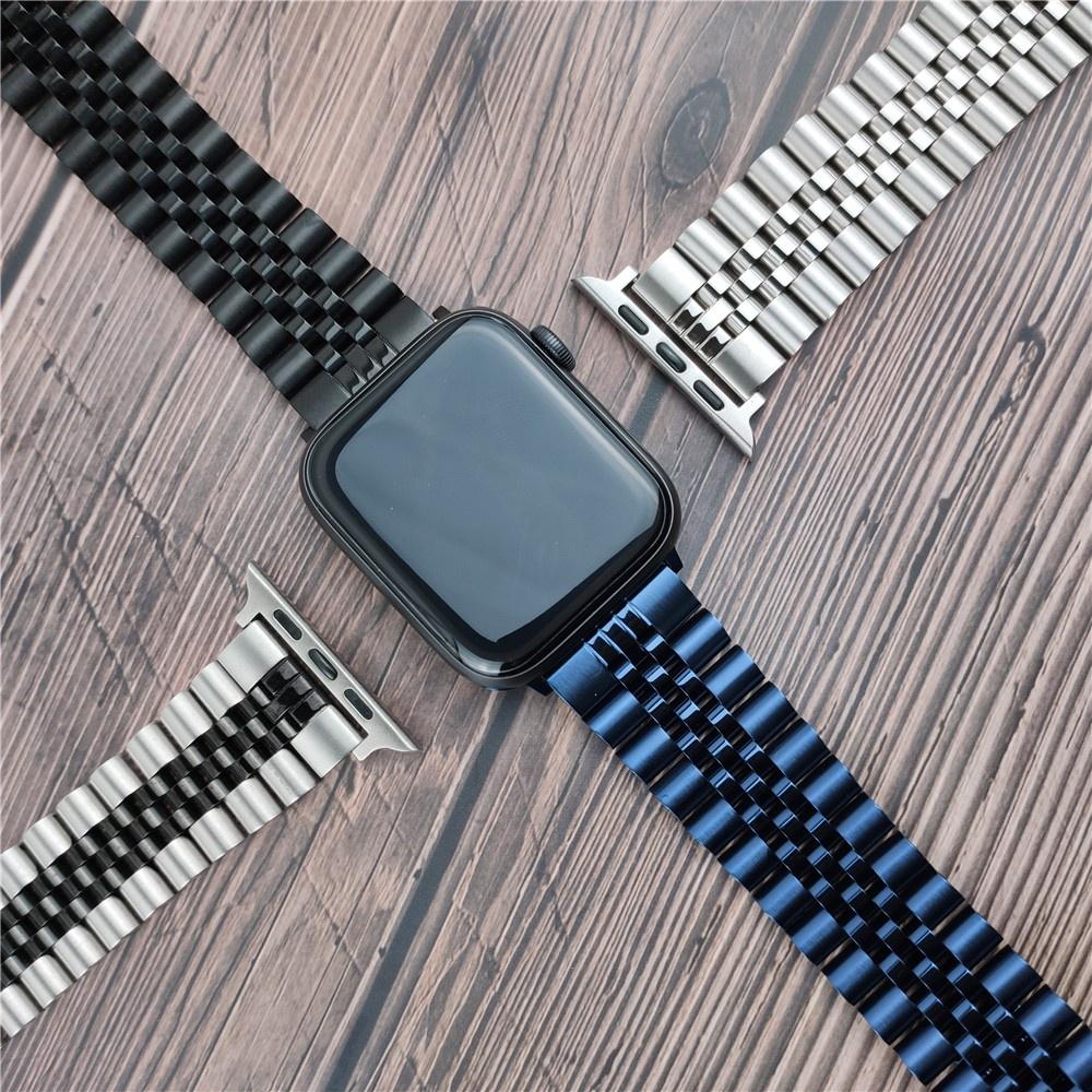 ☊✢สาย Applewatch Premium สายนาฬิกา applewatch series 6 5 4 3 2,Apple watch SE Stainless Steel apple watch Strap size 38ม