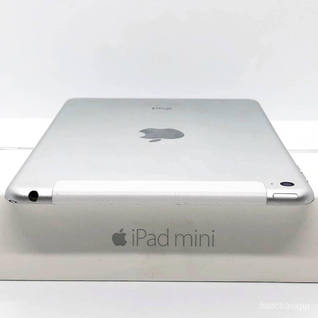 iPad Mini 4 64GB Wifi + Cell สี Silver มือสอง สภาพ 95% [ไอแพด ไอแพดมือสอง ไอแพดราคาถูก iPad iPadมือสอง มือ2 ราคาถูก] k3x