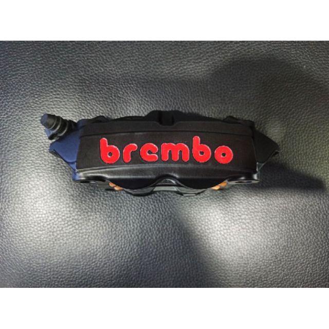ปั๊มเบรคm4หู100mmสีดำยี่ห้อBrembo (รับประกันของแท้ 100%)