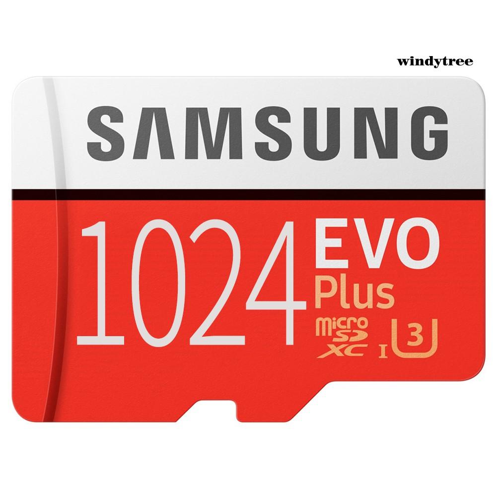 W & T Samsung Evo High Speed 1 T 512 Gb Tf แฟลชเมมโมรี่การ์ดสําหรับมือถือแท็บเล็ต