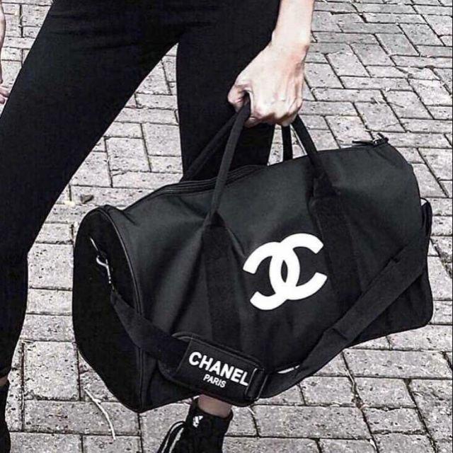 b320a6d84e94 👜Chanel VIP Gift Bag Travel Bag Gym Duffel Weekend | Shopee Thailand