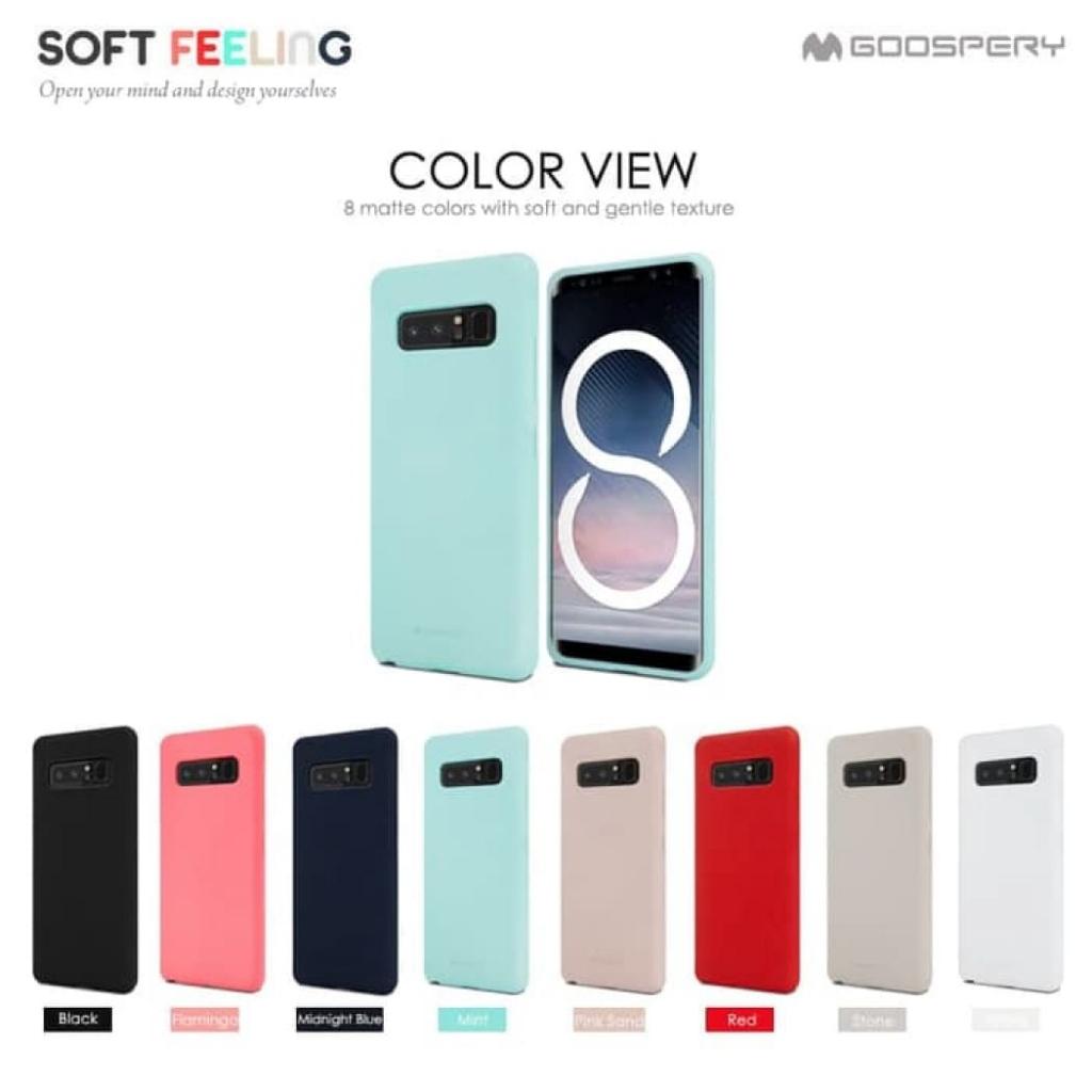 Samsung S8 Plus - เคสยาง ซิลิโคน Soft Feeling Case Mercury (Goospery) แท้