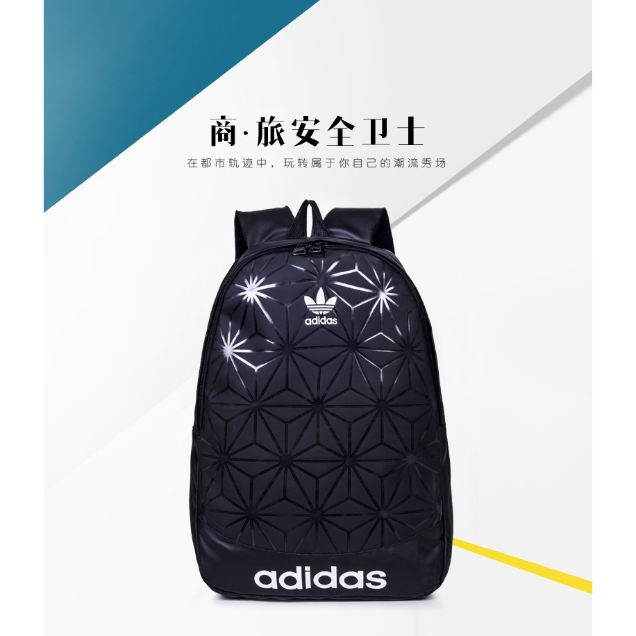 Adidas Backpack Best-Selling Original Fashion Leisure Original Excellent Quality Backpack Students Backpack Laptop Backpack Unisex Bag 3D Mesh Roll Top Backpack【Ready Stock】