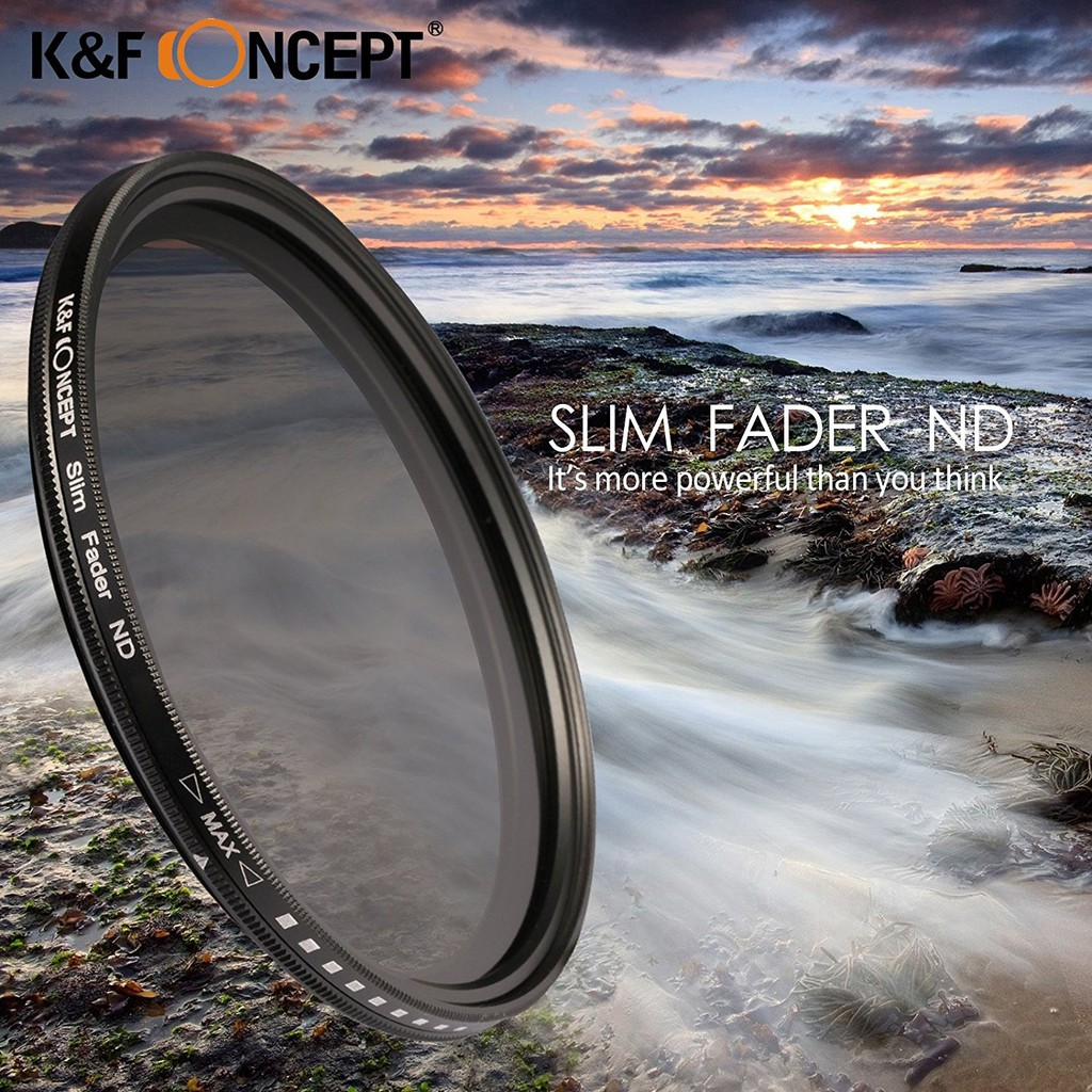 Fotga 46mm Slim Fader Variable ND Filter Adjustable Neutral Density ND2 to ND400 | Shopee Thailand