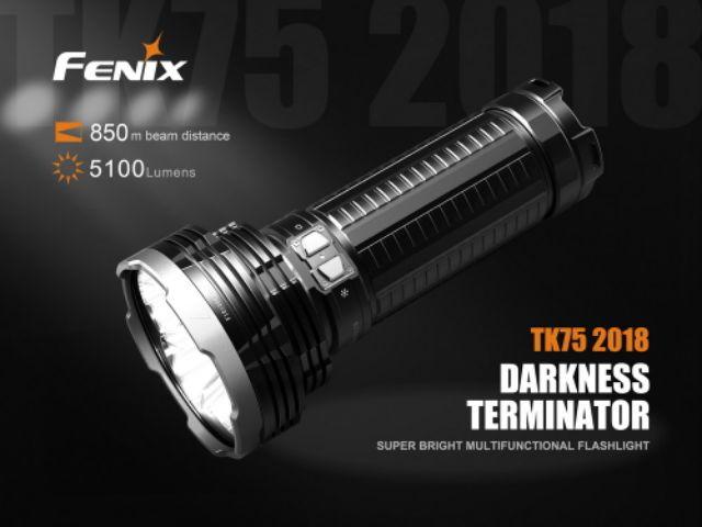 1500 Lumen Acebeam L18 Long Throw OSRAM LED Flashlight 1km Beam Distance Bat