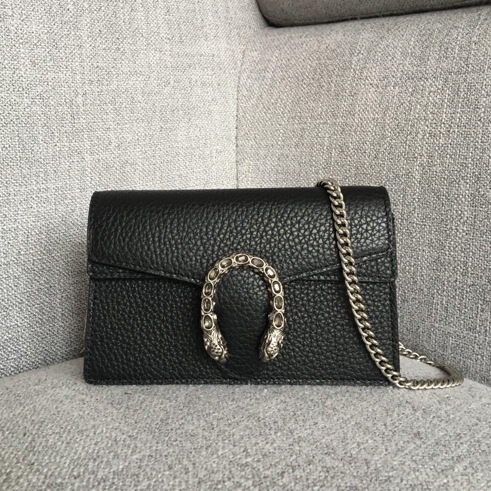 pre-order GUCCI supermini dionysusกระเป๋าสะพายกระเป๋าสะพายไหล่กระเป๋าสะพายข้าง หนังแท้กระเป๋าแฟชั่นแบรนด์เนน