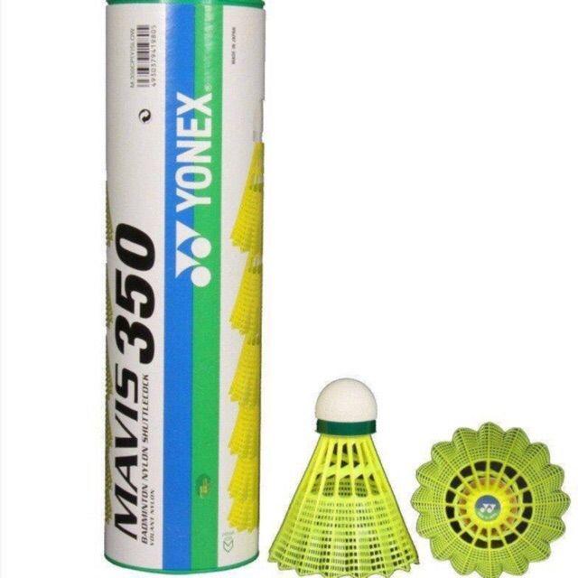 ลูกแบดมินตันพลาสติก Yonex Mavis 350 (slow & Middle) ของแท้ 100%.