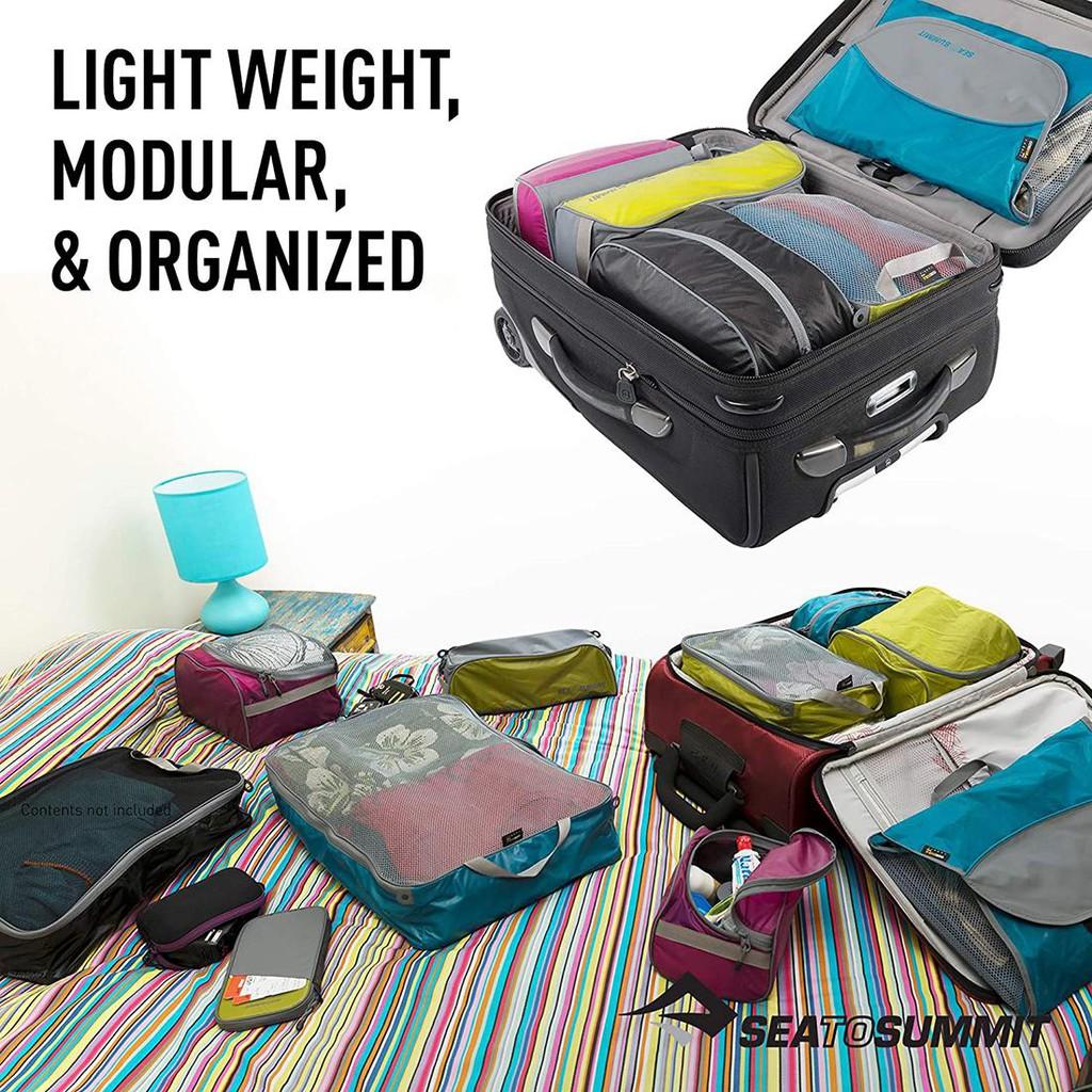 Sea to Summit Packing Cell Packing Cell กระเป๋าอเนกประสงค์เหมาะสำหรับใส่เสื้อผ้า ถุงเท้า สำหรับเดินทาง