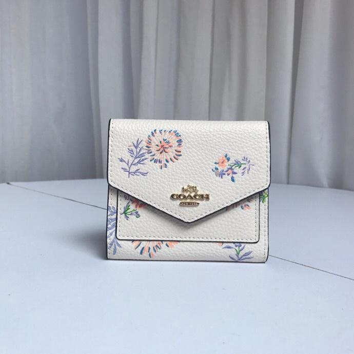 Coach แท้ F69849 กระเป๋าสตางค์ผู้หญิง * กระเป๋าเงิน * กระเป๋าตัง * กระเป๋าสตางค์ใบสั้น