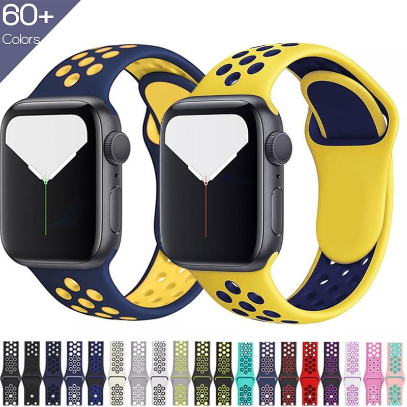 สายนาฬิกาข้อมือ Apple Watch Series Nike Edition 38 มม . - 40 มม . / 42 มม . - 44 มม . สําหรับ Series 6 / Se / 5 / 4 / 3 / 2 / 1