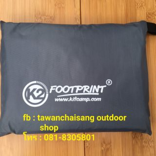 Review แผ่นปูรองพื้นเต้นท์ K2  FOOTPRINT size S