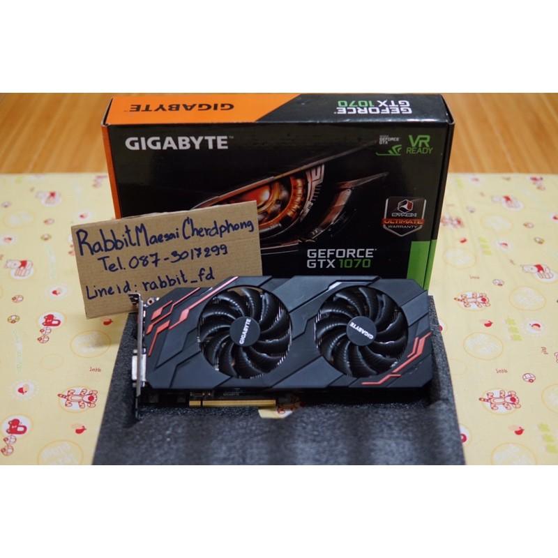 GTX 1070 Gigabyte windforce 8gb มือสอง