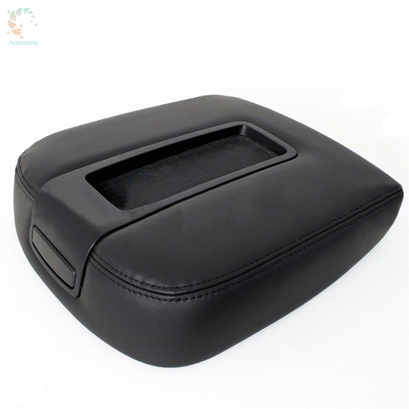 Comfortable Microfiber Leather Console Lid Armrest Cover Fit for 07-13 Chevy Tahoe Suburban Yukon Sierra