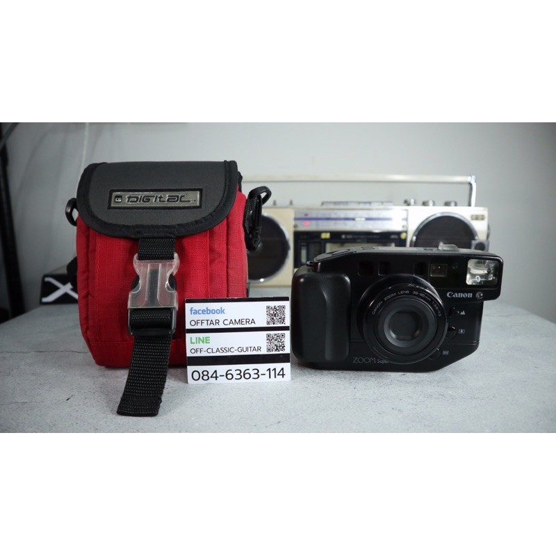 Canon Autoboy Zoom Super (กล้องฟิล์ม)