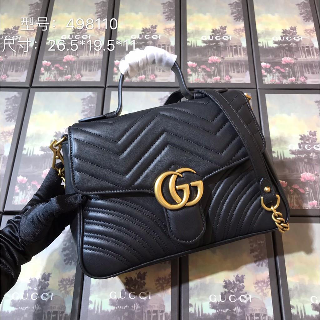 Gucci 498110 กระเป๋าสะพายข้างหนัง