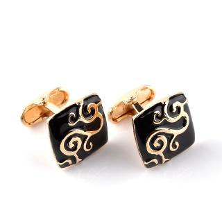 Hot Sale of New Cufflink Alloy To Fashion French Cufflink Cufflinks Foreign Trade Hot Sale Wedding Party Gift