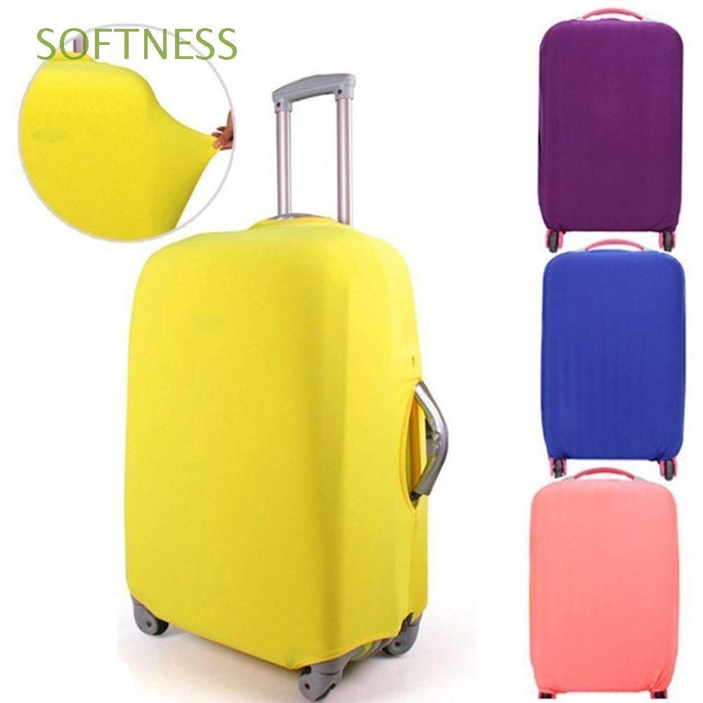 Softness ผ้าคลุมกระเป๋าเดินทางกันรอยขีดข่วน 18-30 นิ้ว