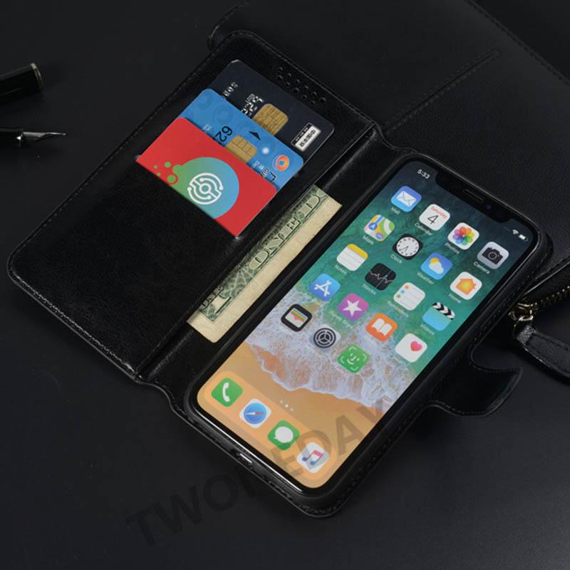 เคสโทรศัพท์หนังฝาพับพร้อมช่องใส่บัตรสําหรับ Huawei Y3 2017 Cro - L22 Huawei Y5 Lite 2017 Cro - L22 Cro - L03 Cro - L23 C