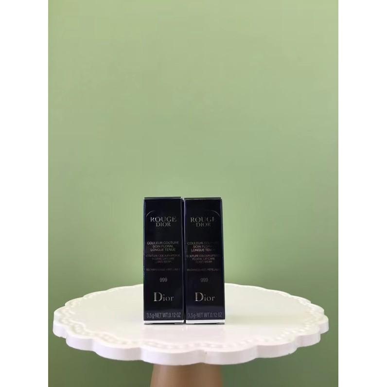 2020 New Dior Lipstick 999 matte-999 มอบความชุ่มชื่นให้กับนิตยสารนับไม่ถ้วนฉบับแรก!