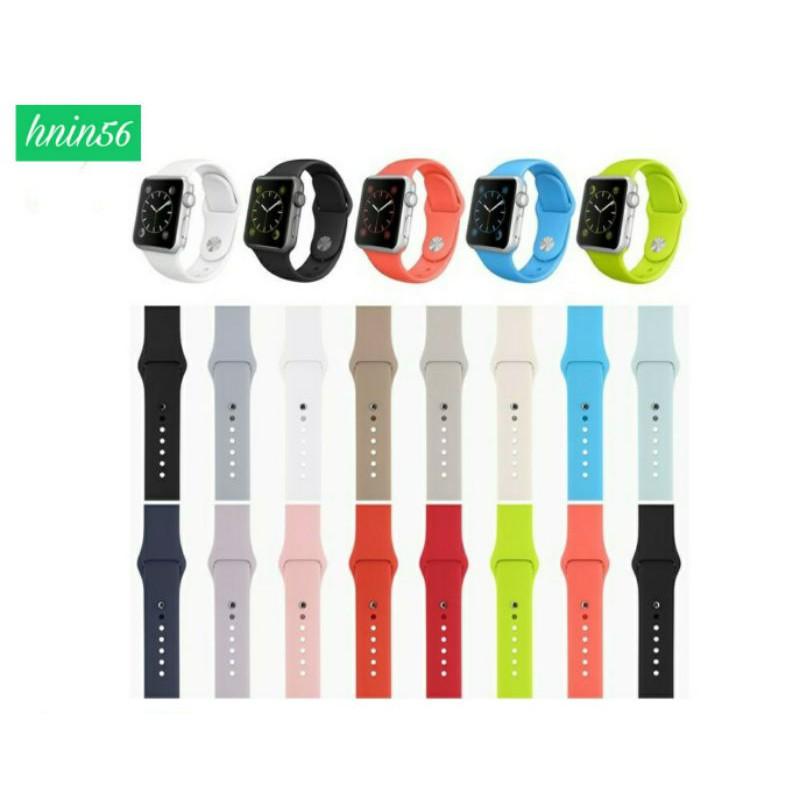 สายนาฬิกา Apple Watch Strap สายนาฬิกาข้อมือซิลิโคน สาย Apple Watch Series1/2/3/4/5