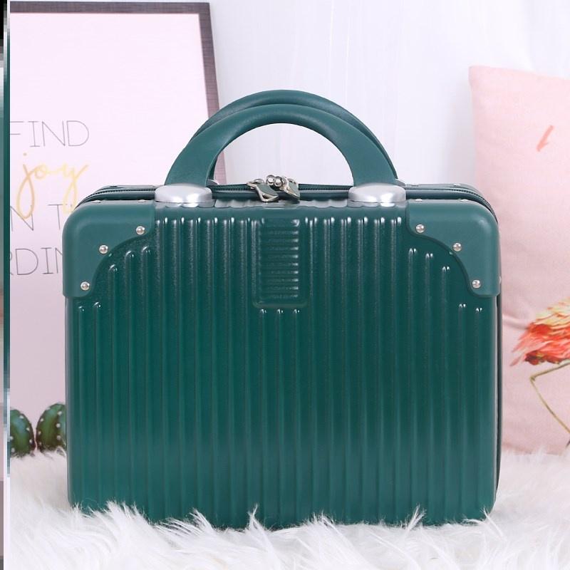 กระเป๋าเดินทางใบเล็กกระเป๋าเดินทางใบเล็กน่ารักกระเป๋าเดินทาง﹊♚> กระเป๋าเดินทางแบบพกพาเครื่องสำอางกระเป๋าเดินทางขนาดเล็กก