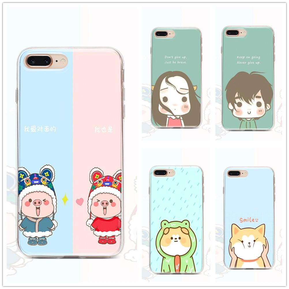Casing Samsung Galaxy A10S Samsung A9 pro Samsung A8 2018 Samsung A7 2018 Samsung A6 plus M10 M40s Samsung M30 M30S M20 Soft Cover Couple phone case SAMSC0134
