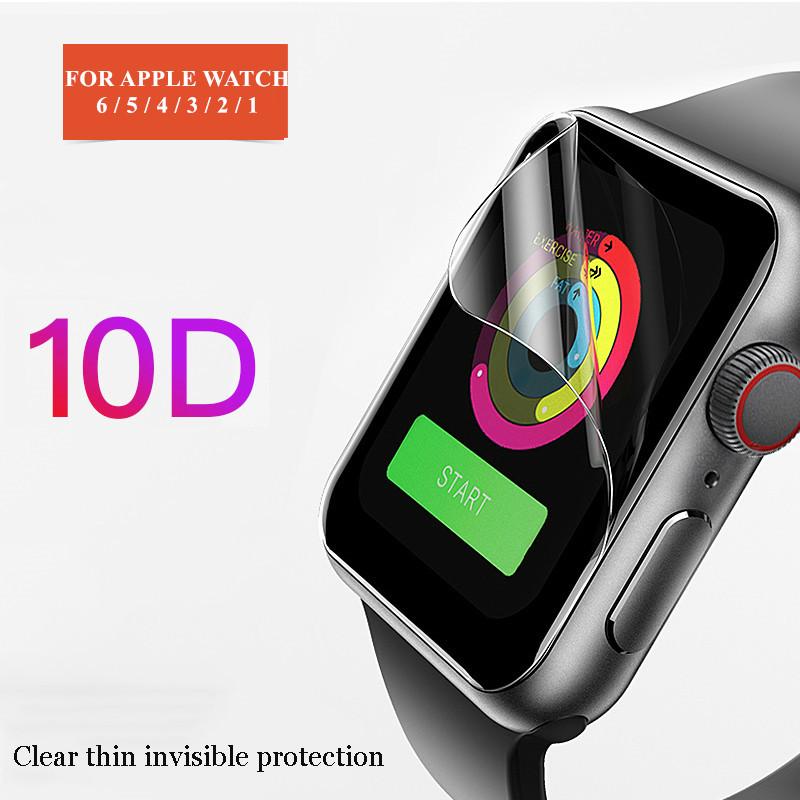ฟิล์มกันรอยสำหรับ Apple Watch Iwatch 6 5 4 40 มม. 44 ไม่ใช่กระจกนิรภัยสำหรับ Apple Watch 3 2 38 42 นาฬิกาสมาร์ทวอทช์ Apple Apple Watch Series สาย Applewatch