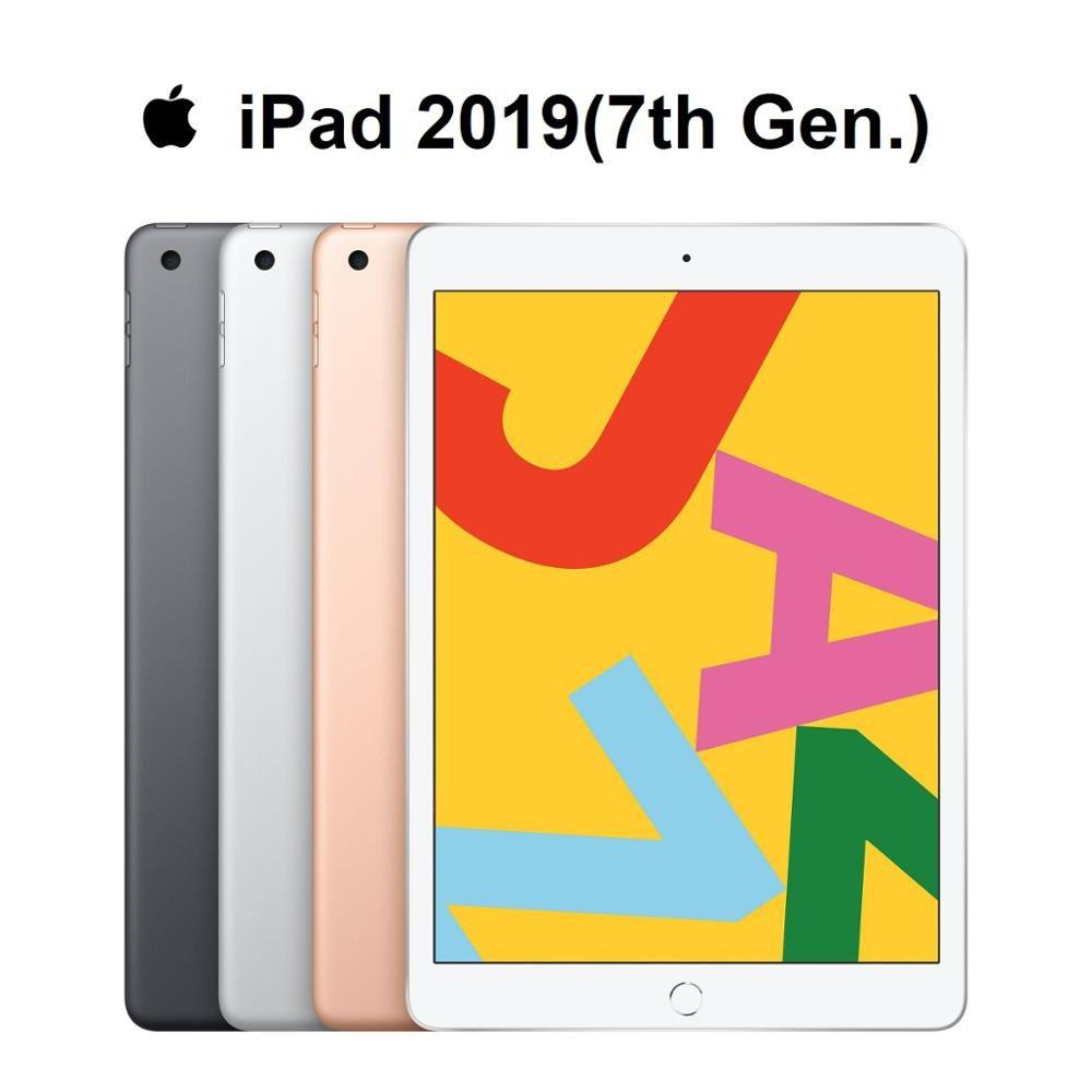 "New Original Apple iPad 2019 7th Gen. 10.2"" Retina Display Supporting Apple Pencil and Smart Keyboard IOS Tablet Bluetoo"