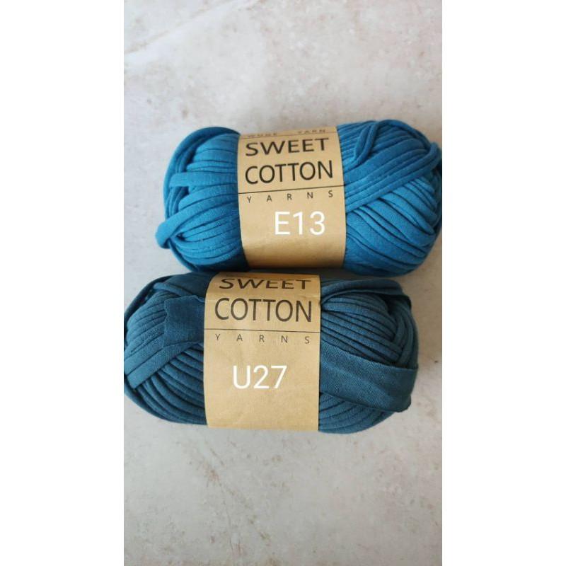 ไหมผ้ายืด Sweet Cotton 100กรัม T-shirt yarn มี 45สี