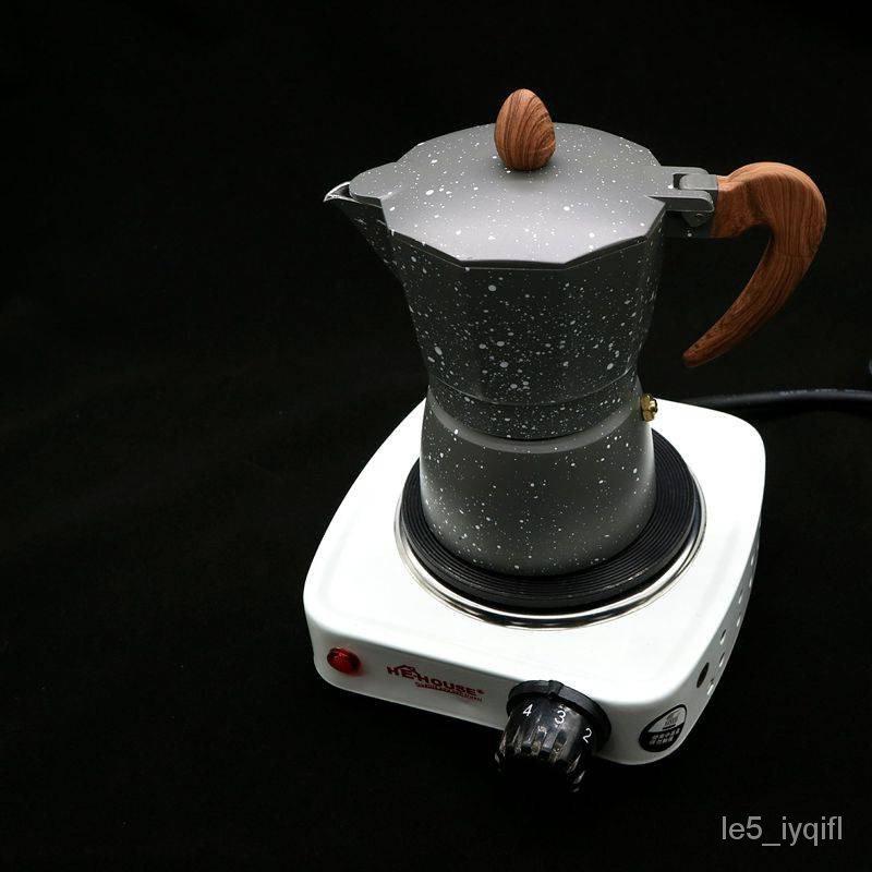หม้อกาแฟ, หม้อ moka อิตาเลี่ยน, เครื่องทำกาแฟสกัด, ชุดกาแฟในครัวเรือน, หม้อกรองหยดเข้มข้นแบบพกพา