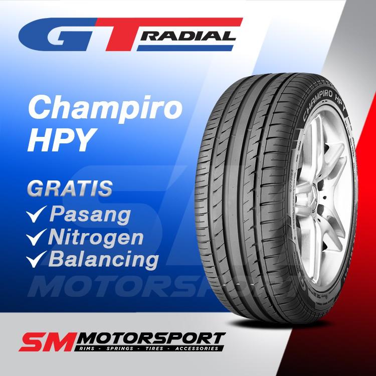 ยางรถยนต์ Gt Radial Champiro Hpy 225 / 65 R17 อุปกรณ์เสริมสําหรับรถยนต์