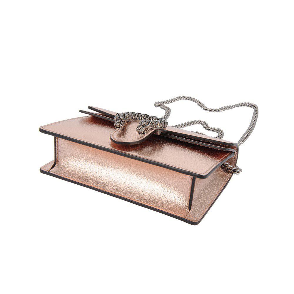 TZ2H Gucci Dionysus Super Mini Crossbody Bag for Women - Rose Gold 476432-1TRBR-8373