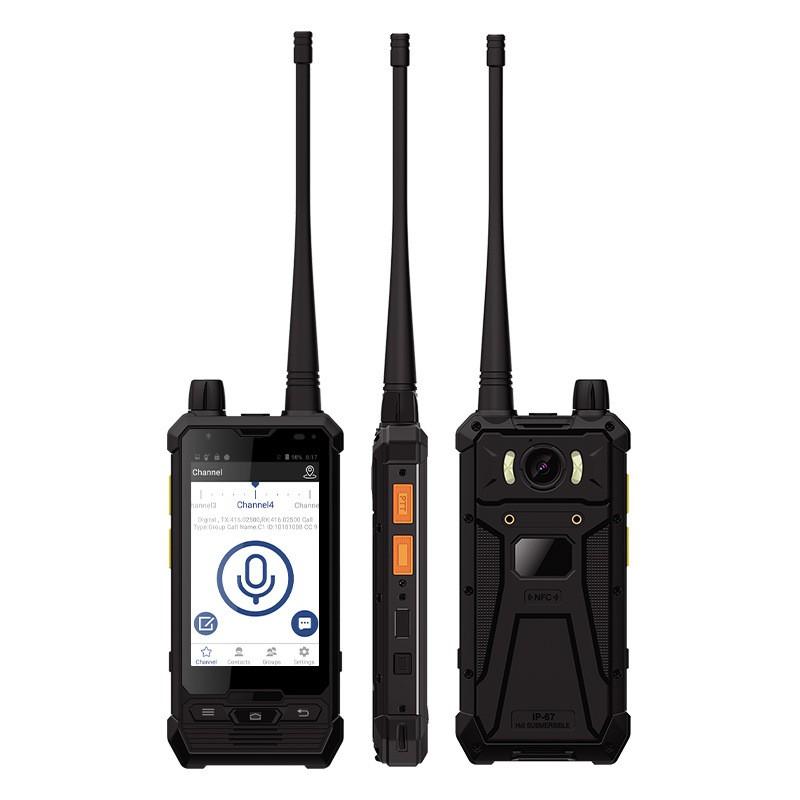 UNIWA P2 4นิ้วสัมผัสสองทางวิทยุ4G LTE IP67กันน้ำสมาร์ทโฟน Intercom