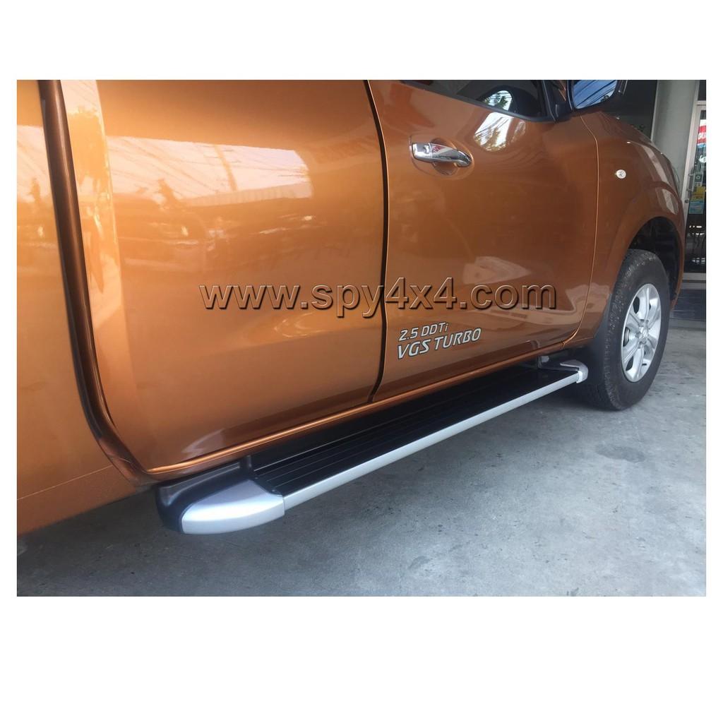 บันไดเสริมข้างรถกระบะ Nissan NP300 ทรงห้าง Cab 2ประตู ตรงรุ่น(ส่งฟรี)