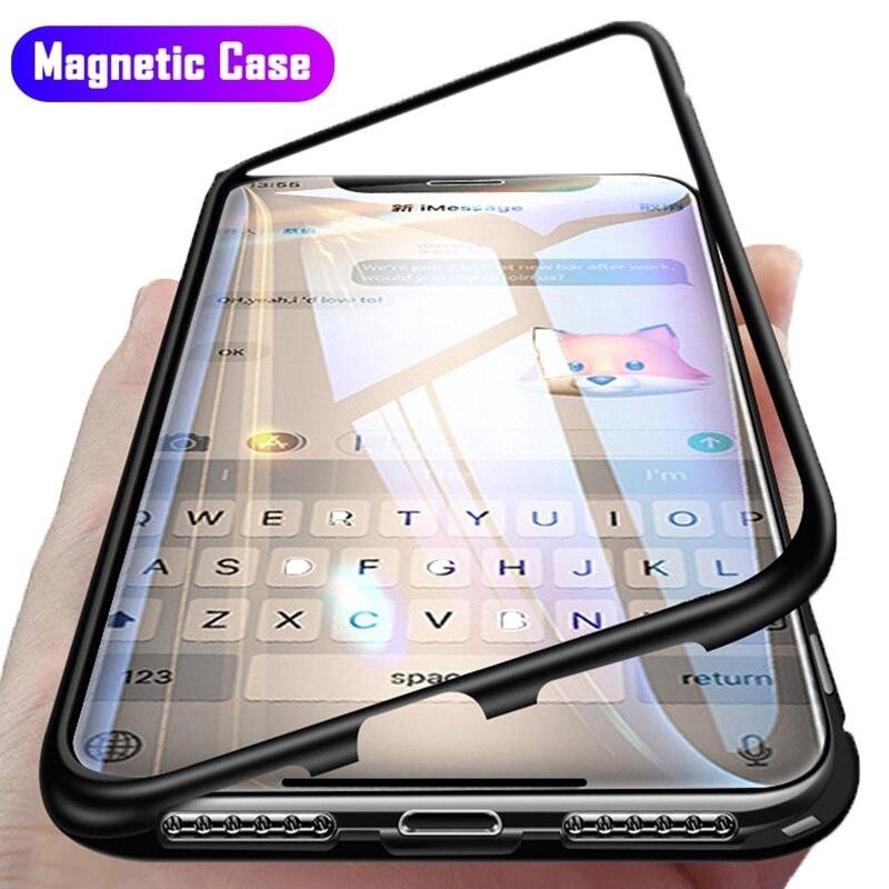 เคสโทรศัพท์มือถือแบบสองด้านสําหรับ Apple Iphone 11 Pro Max 360