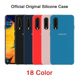 Review Official Original Real Liquid Silicone Case Samsung Galaxy A70 A50 A50S A30S A30 A20 A10 M10 A20S Casing